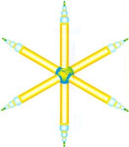 aumisme-symbole-colonne de lumière